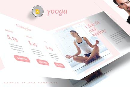 Plantillas de Diapositivas de Google de Yooga