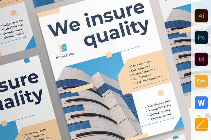 Thumbnail for Insurance Agency Poster