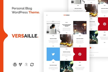 Versaille - Personal Blog WordPress Theme