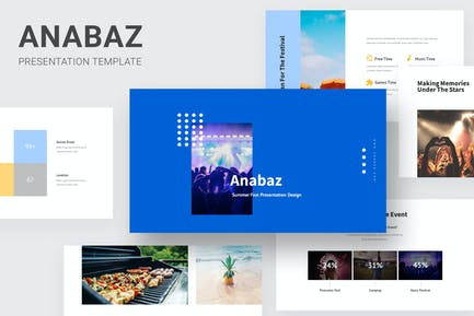 Anabaz - Summer Party Powerpoint