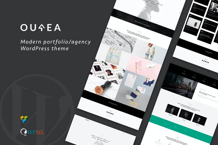 Thumbnail for Ourea - Creative Portfolio / Agency WP Theme