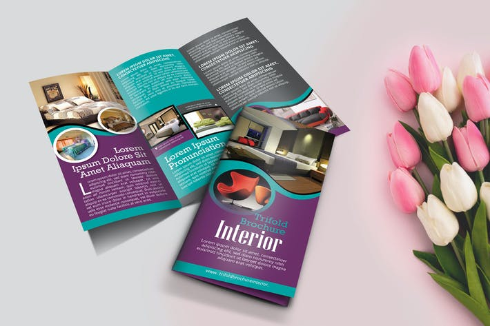 Thumbnail for Trifold Interior Brochure Template Vol2.