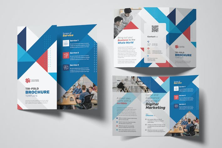 Thumbnail for Digital Marketing Trifold Brochure