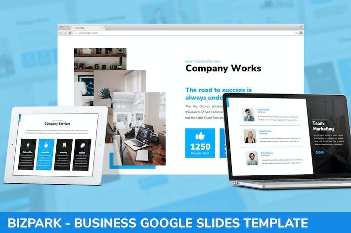 Thumbnail for Bizpark - Business Google Slides Template