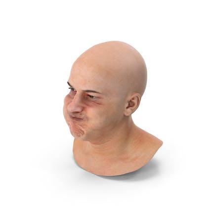 Marcus Human Head Cheek Blow