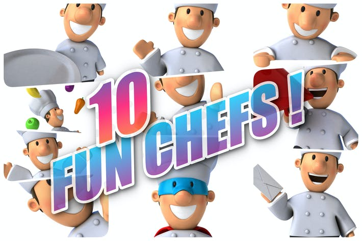 Thumbnail for 10 fun Chefs !