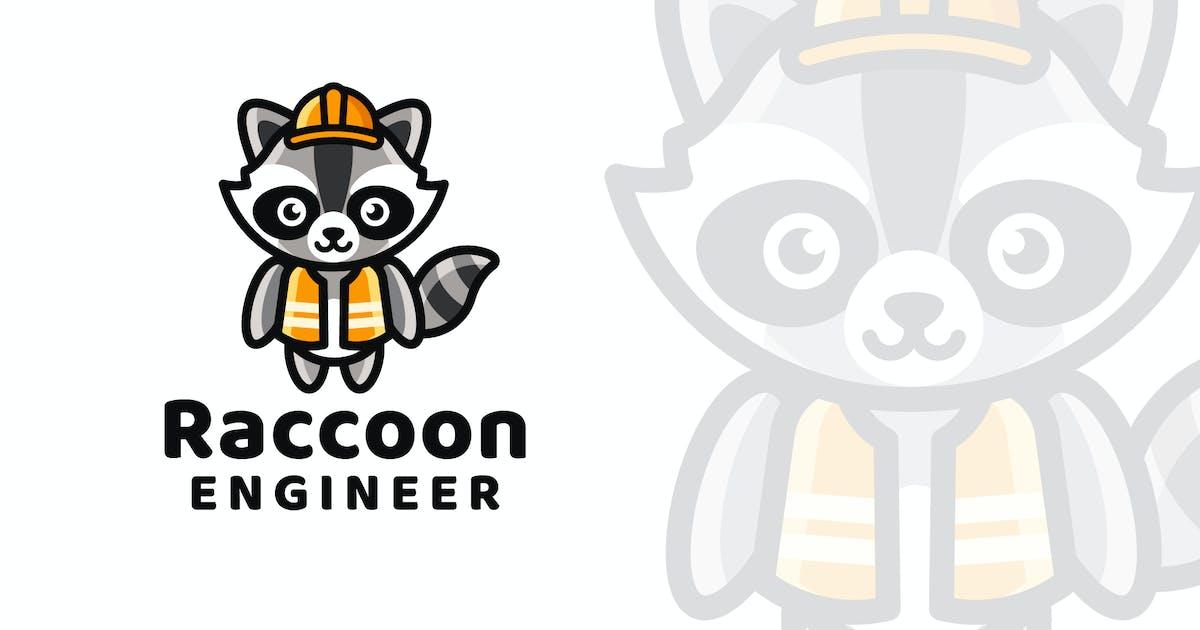 Download Raccoon Engineer Logo Template by IanMikraz