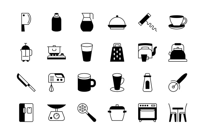 Thumbnail for 63 Kitchenware icons