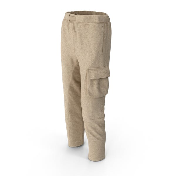 Женские брюки бежевый