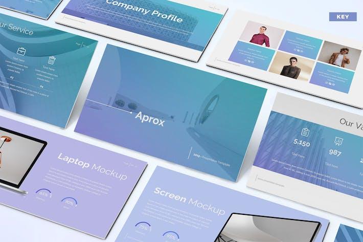 Thumbnail for Aprox - Шаблон Keynote