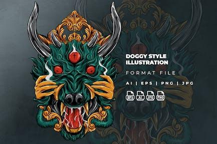 Doggy Style Illustration