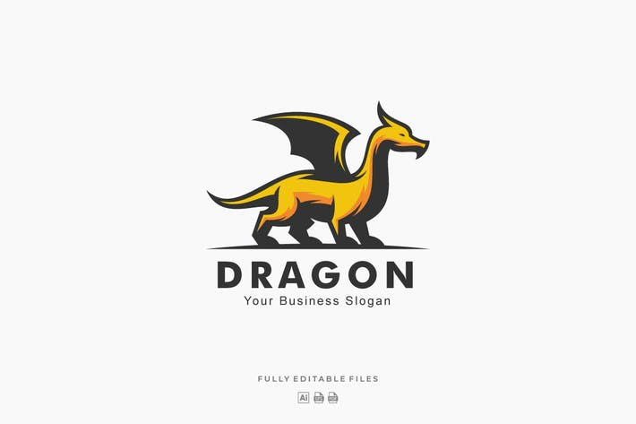Thumbnail for Dragon Mascot Logo