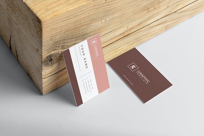 Mytemp - Minimalist Business Card v2