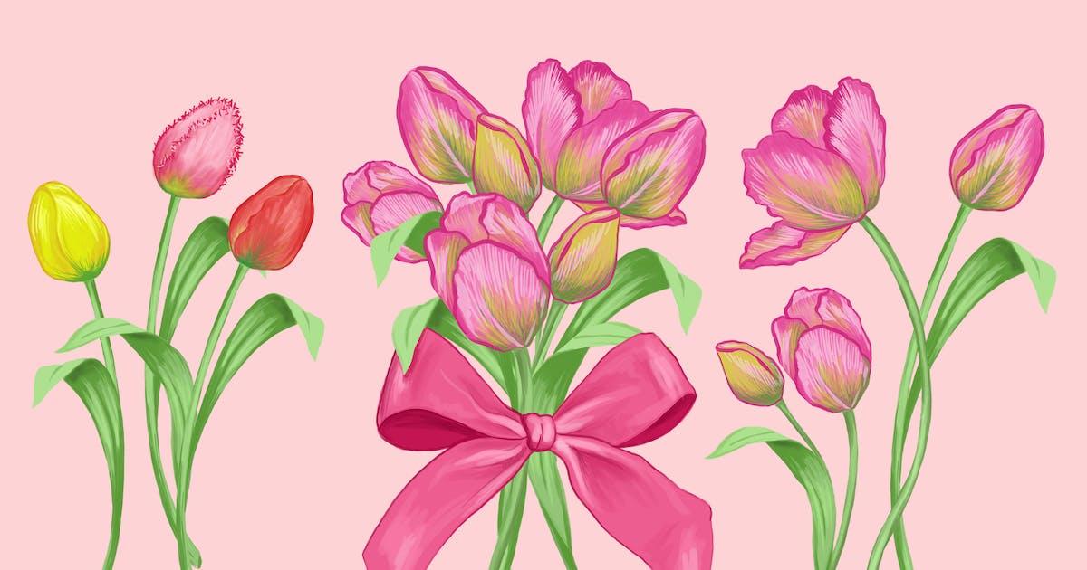 Download Tulip Bouquet by Jumsoft