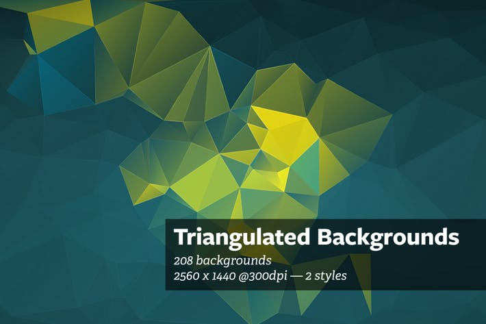 Thumbnail for Triangulated - Abstract Backgrounds