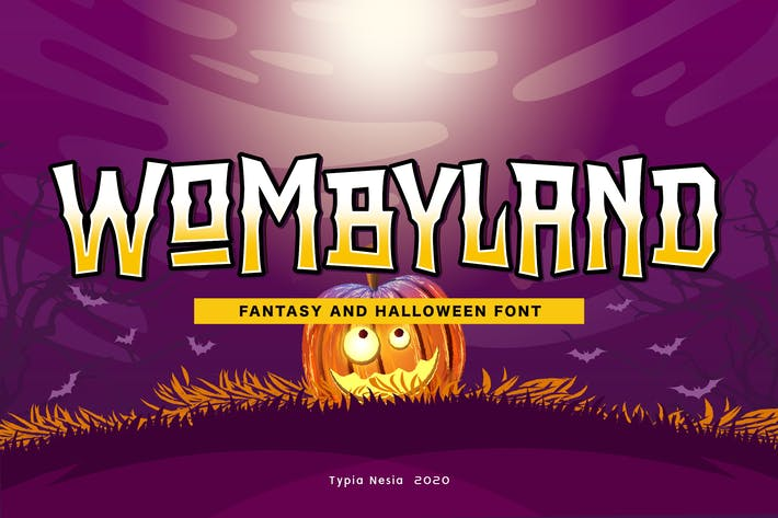 Thumbnail for Wombyland - Fantasy Game Font