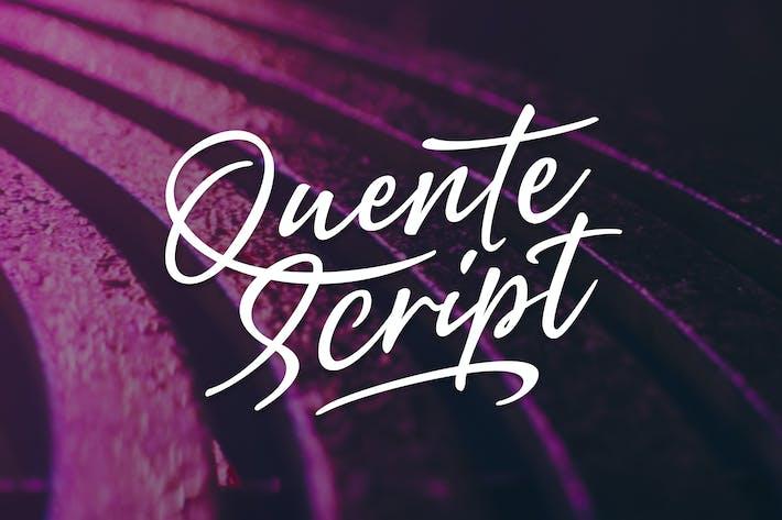 Thumbnail for Quente Script
