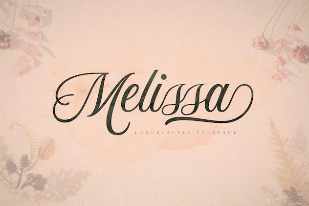 Melissa Script Font - product preview 3
