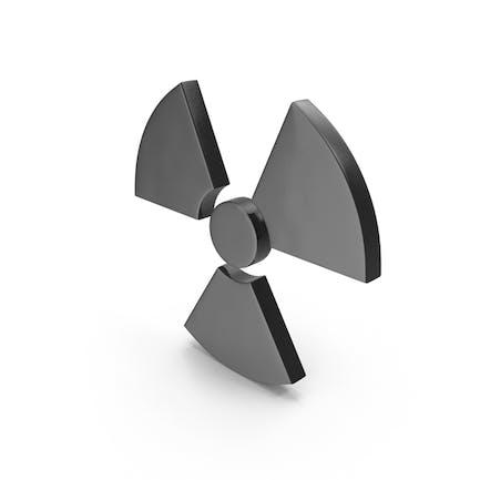 Símbolo de radiación