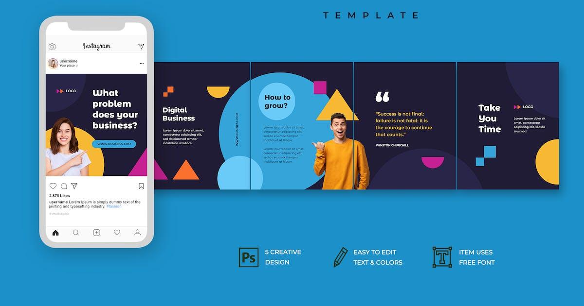 Download Instagram Carousel by uicreativenet