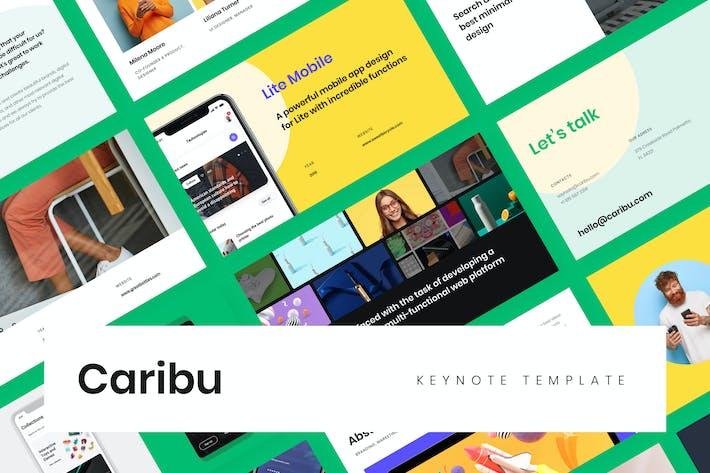Thumbnail for Caribu Modern Keynote Template