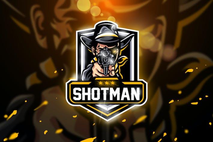 Thumbnail for Shotman - Mascot & Esport logo