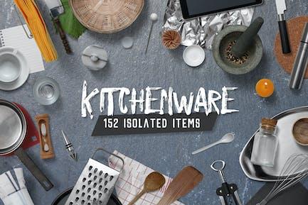 Kitchen Scene Gen. - Kitchenware & Tools
