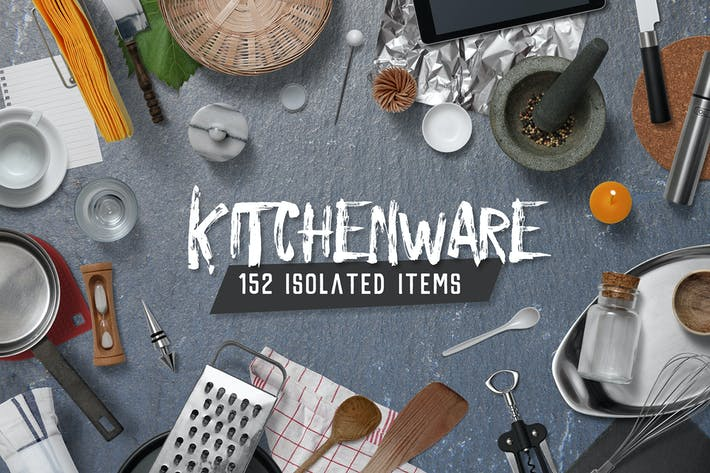 Kitchen Scene Gen. - Kitchenware & Tools