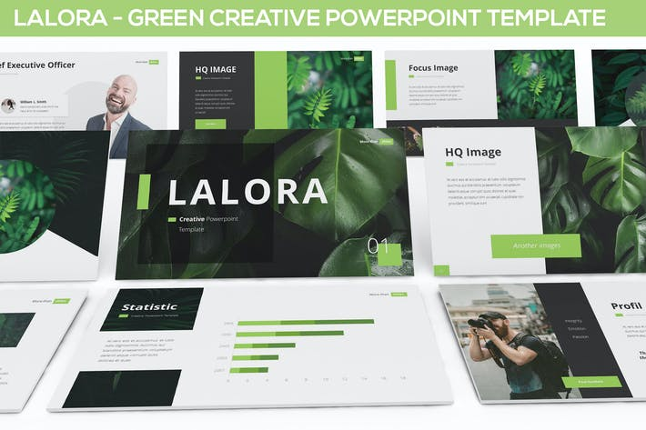 Thumbnail for Lalora - Green Business Template
