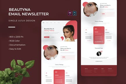 Beautyna | Email Newsletter