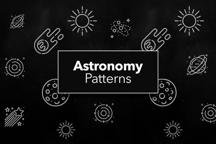 Cover Image For Astronomy and Space Patterns