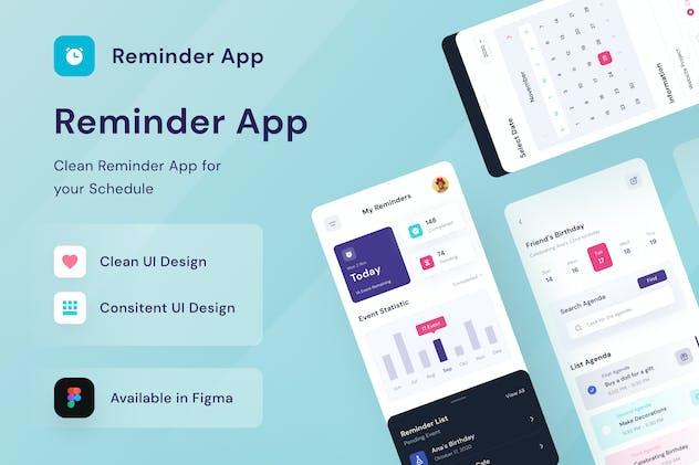 Remainder Mobile App SQ