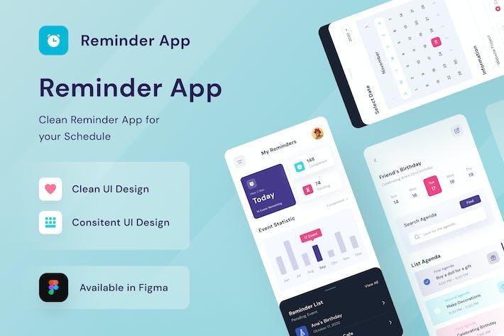 Remainder Mobile App - Sqtemp