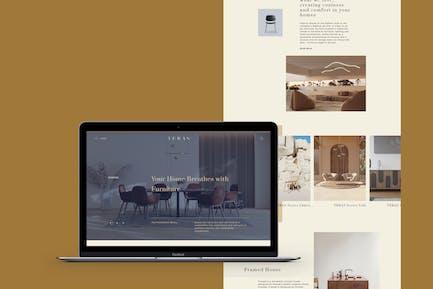 TERAS - Classic Luxury Furniture Zielseite