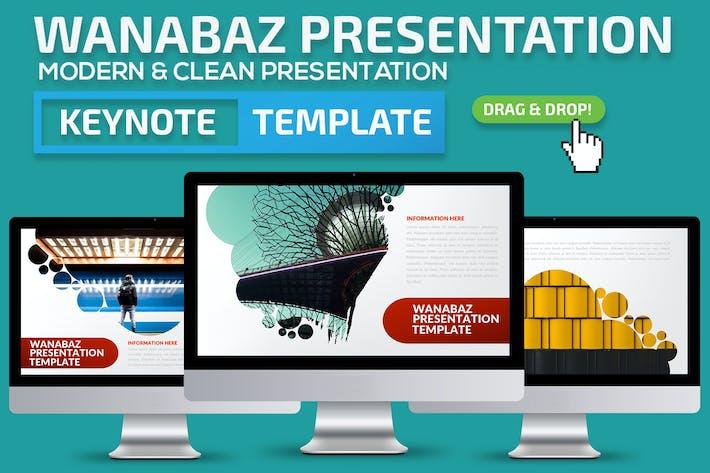 Thumbnail for Шаблон презентации Keynote докладов Ванабаз