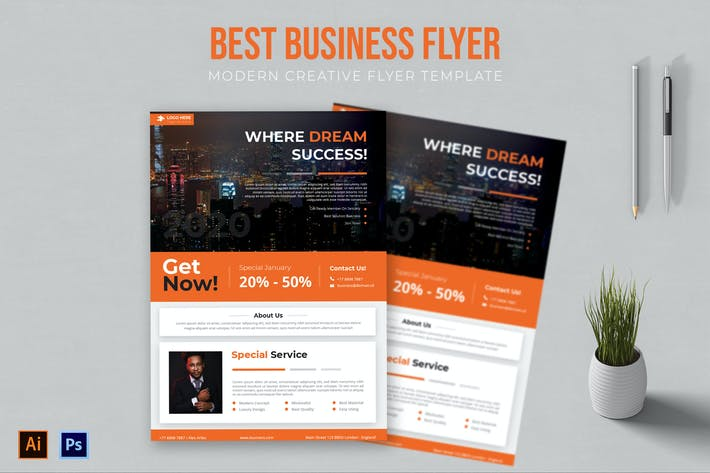 Thumbnail for Best Business - Flyer