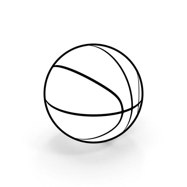 Basketball Ball Cartoon