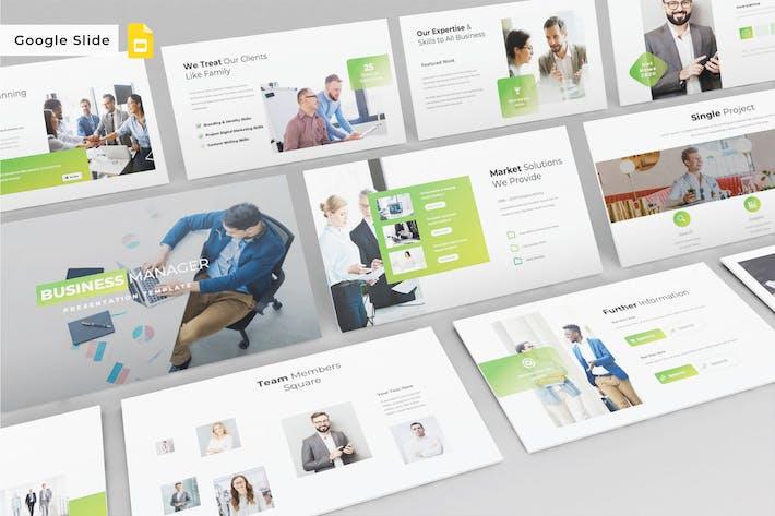 BUSINESS MANAGER - Google Slide V611