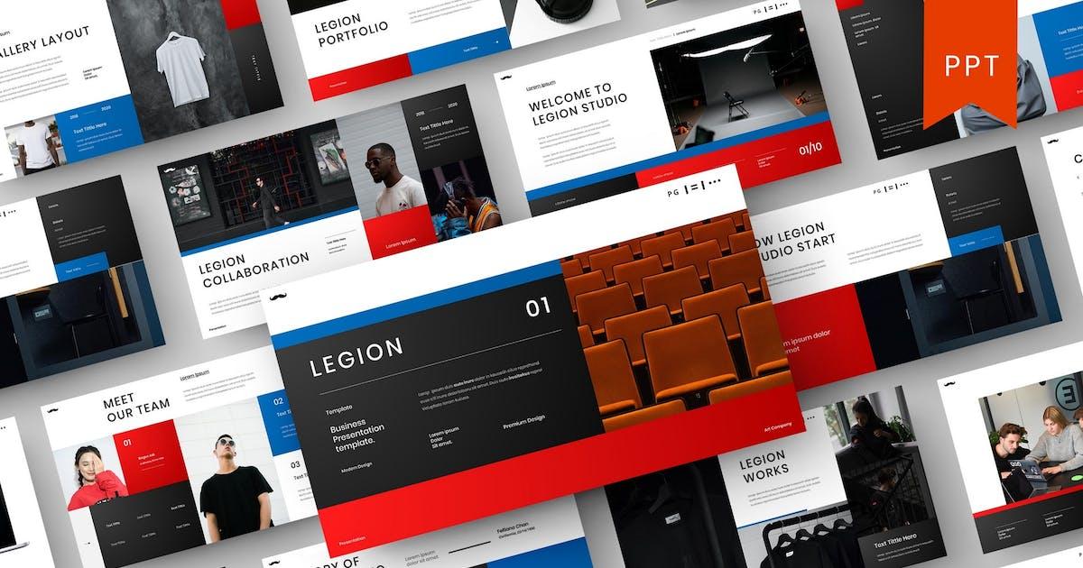Download Legion – Business PowerPoint Template by DensCreativeStudio