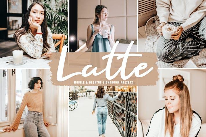 Пресеты Latte для мобильных и настольных ПК Lightroom