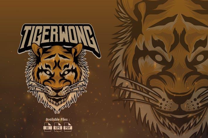 Thumbnail for Tiger Wong Sport and Esport Logo