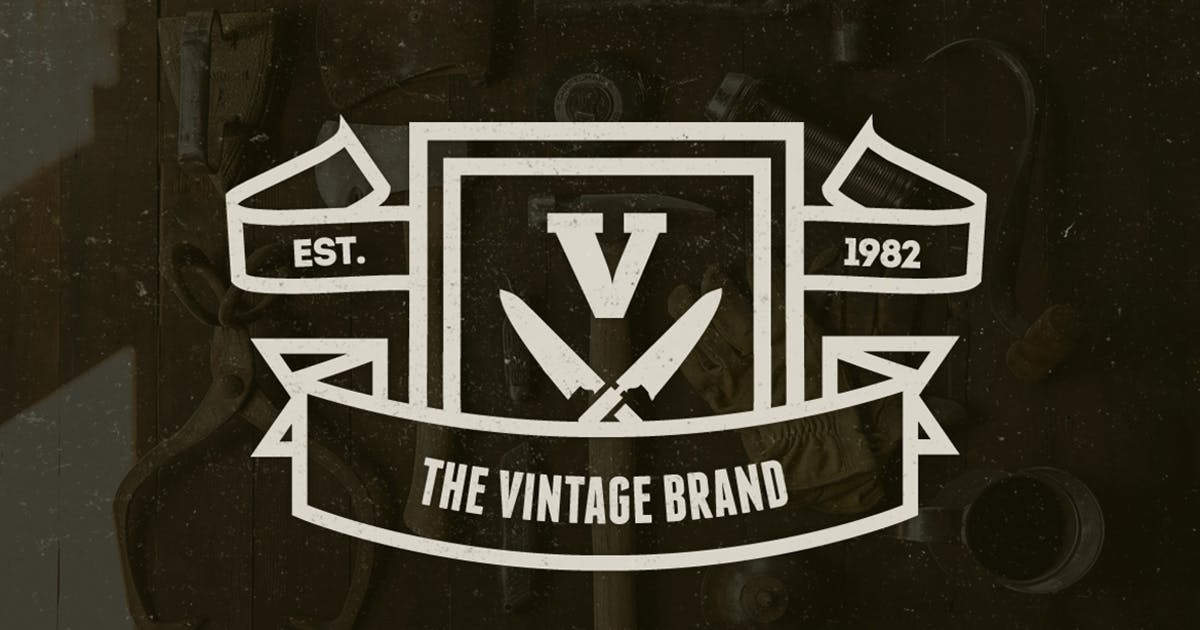 Download 20 Vintage Logos & Badges 002 by designdistrictmx