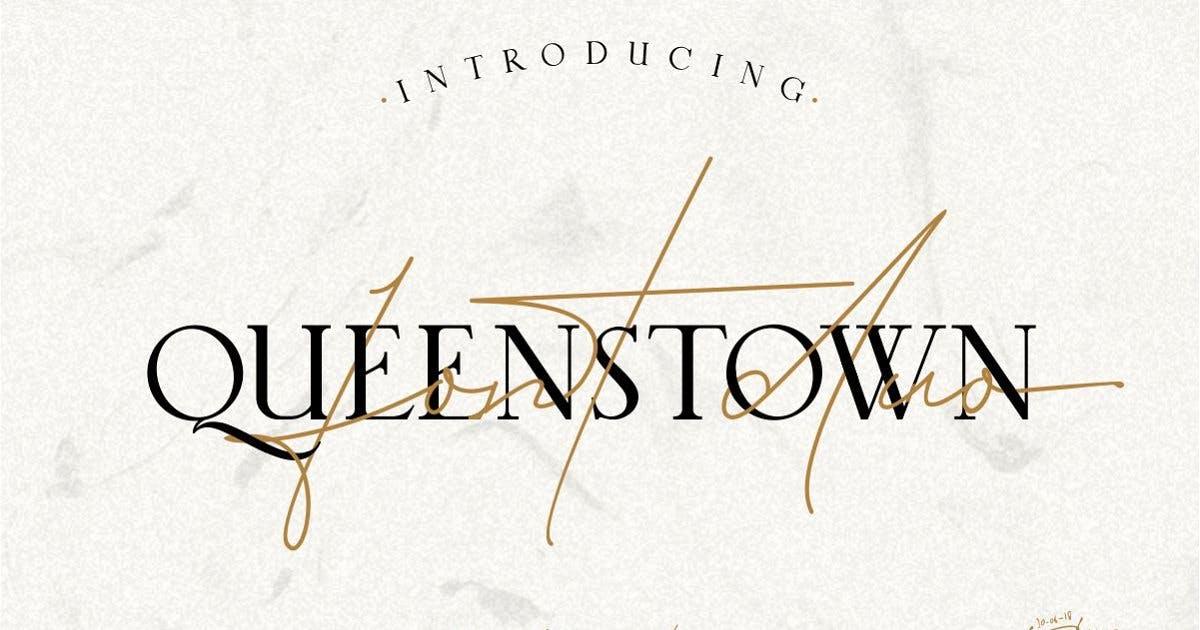 Download Queenstown by illustratype