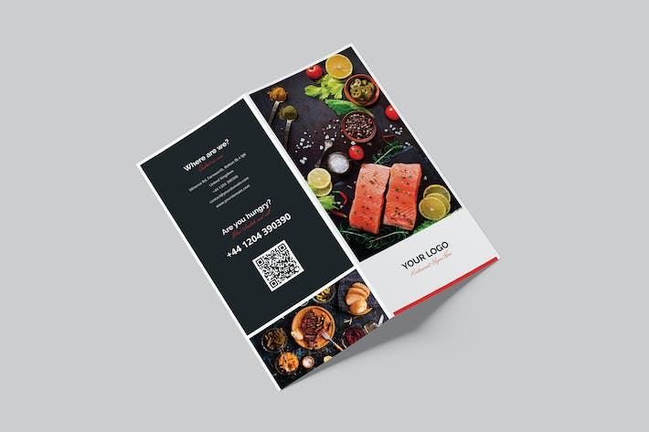 Brochure – Restaurant Bi-Fold DL