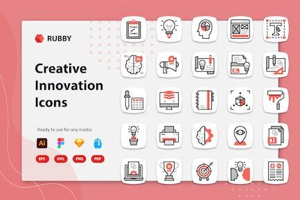 Rubby - Kreative Innovationssymbole