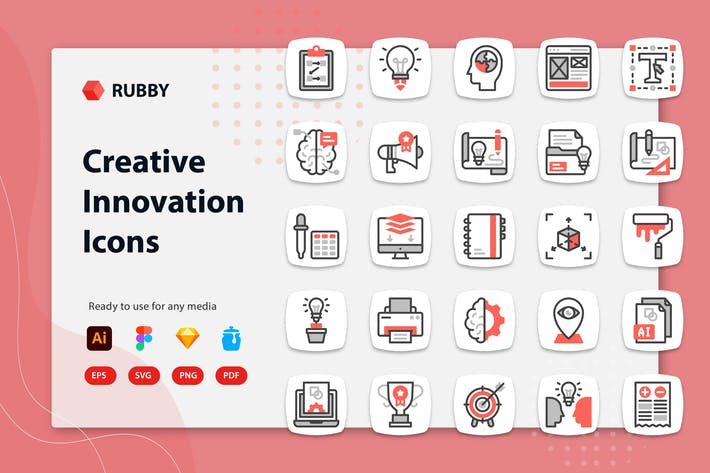 Rubby - Creative Innovation Icons