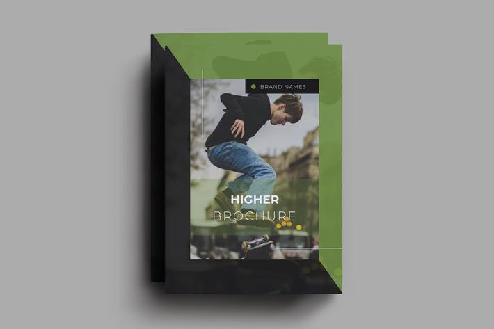 Thumbnail for Higher Brochure Template
