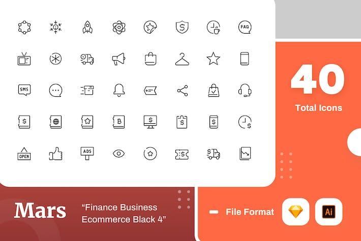 Thumbnail for Mars - Finance Business Ecommerce Black 4