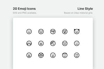 Emoji-LinienIcons