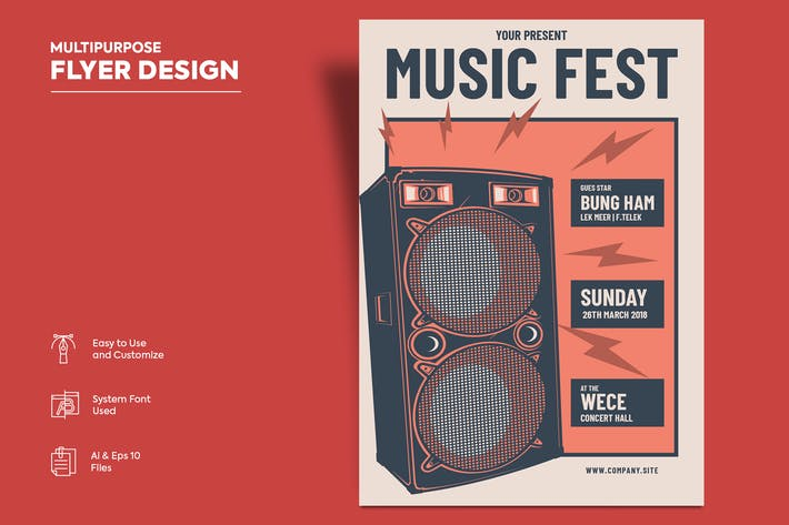 Thumbnail for Flyer Design Vol.11